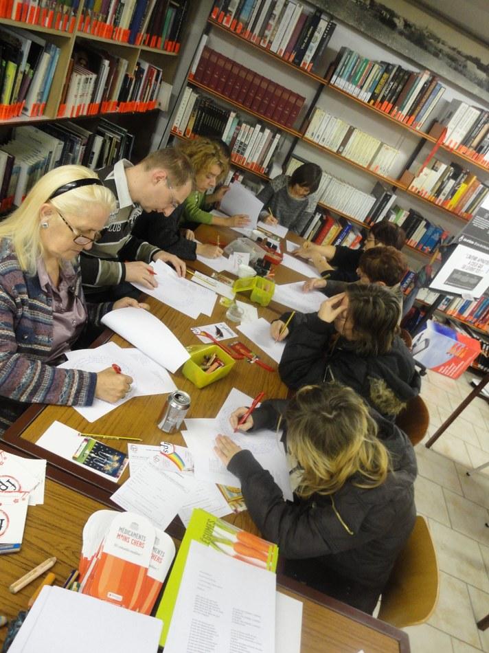 Atelier d'écriture Violences faites aux femmes