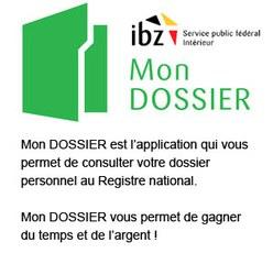 "<a href= ""https://mondossier.rrn.fgov.be/"">Mon dossier </a>"