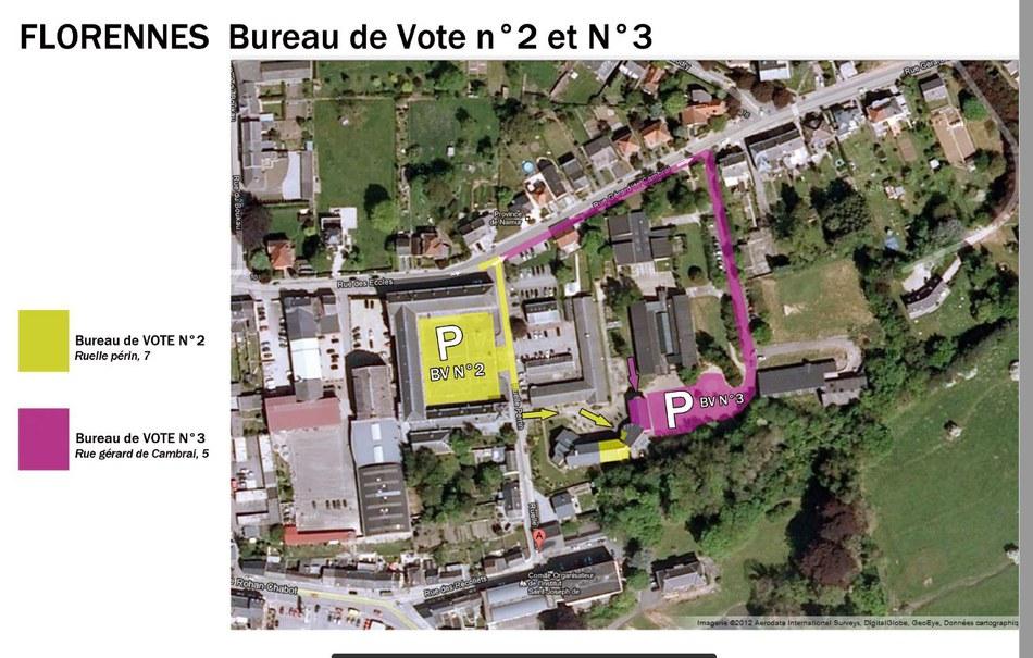 Parking bureau de vote N°2 et N°3